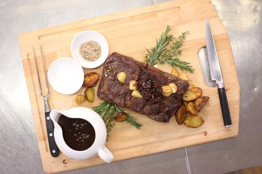 Arrangements essen steak 900x600